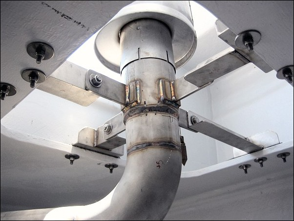 Marine Dry Exhaust Designs And Ideas Seaboard Marine