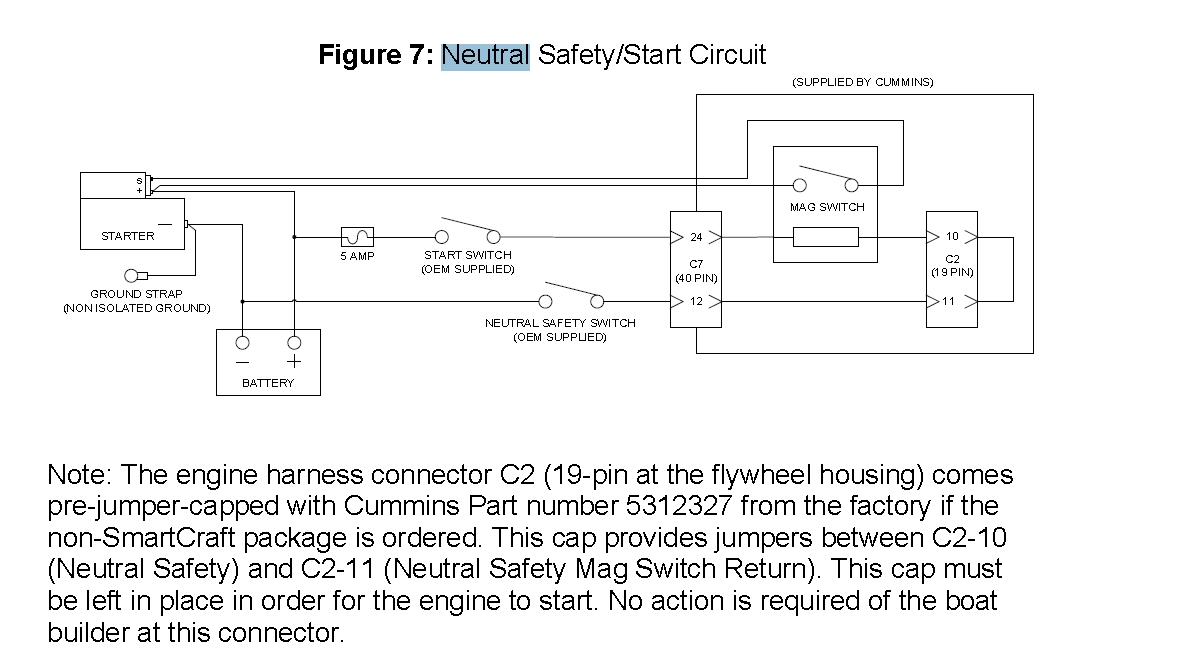 smartcraft wiring diagram smartcraft image wiring neutral safety circuit diagram seaboard marine on smartcraft wiring diagram