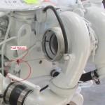 QSC 8.3 and QSL 9 Main Fuel Return Port