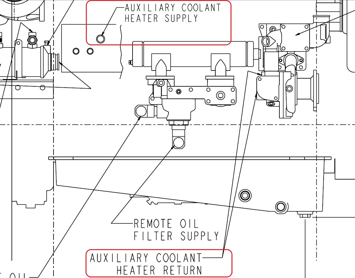qsm11 heater supply ports seaboard marine rh sbmar com QSM11 Marine Engine QSM11 Water Pump
