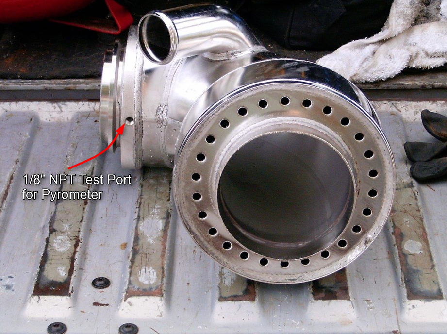 Qsm11 Wet Exhaust Riser Test Pyro Port Location Seaboard