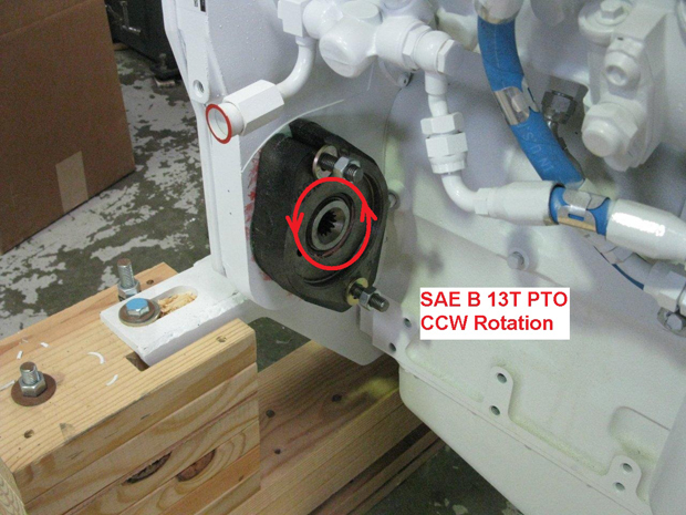 PTO and Water Pump Rotation - Seaboard Marine