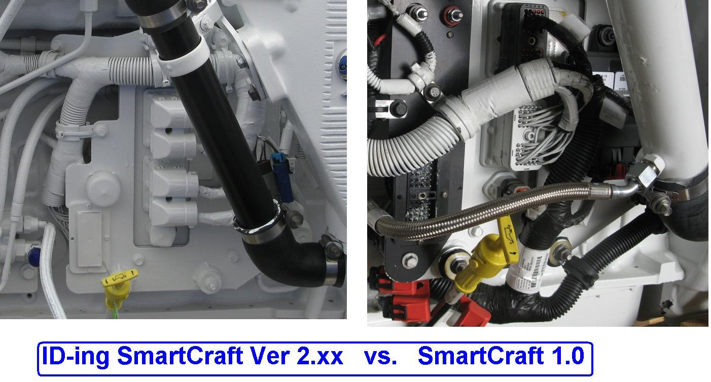 Smartcraft 1.0 vs 2.x Processor or ECM