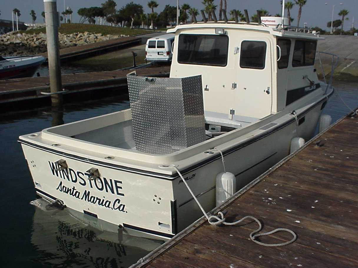 """Windstone"" is owned by David Sharabani of Santa Maria, California. He's an electrical contractor that is trying to find time to go fishing now that he's got a serious fish machine that can run with the best of them!"