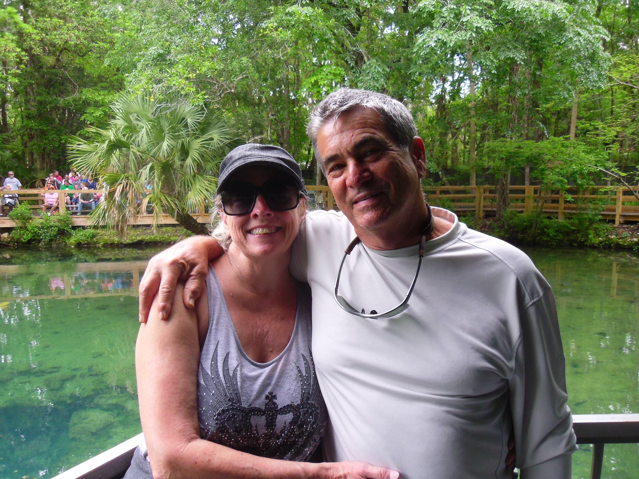 Tony and Donna in Homosassa, FL