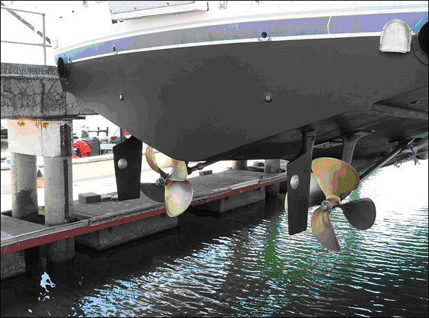 Propellers Move Boats Engines Just Turn Them Seaboard