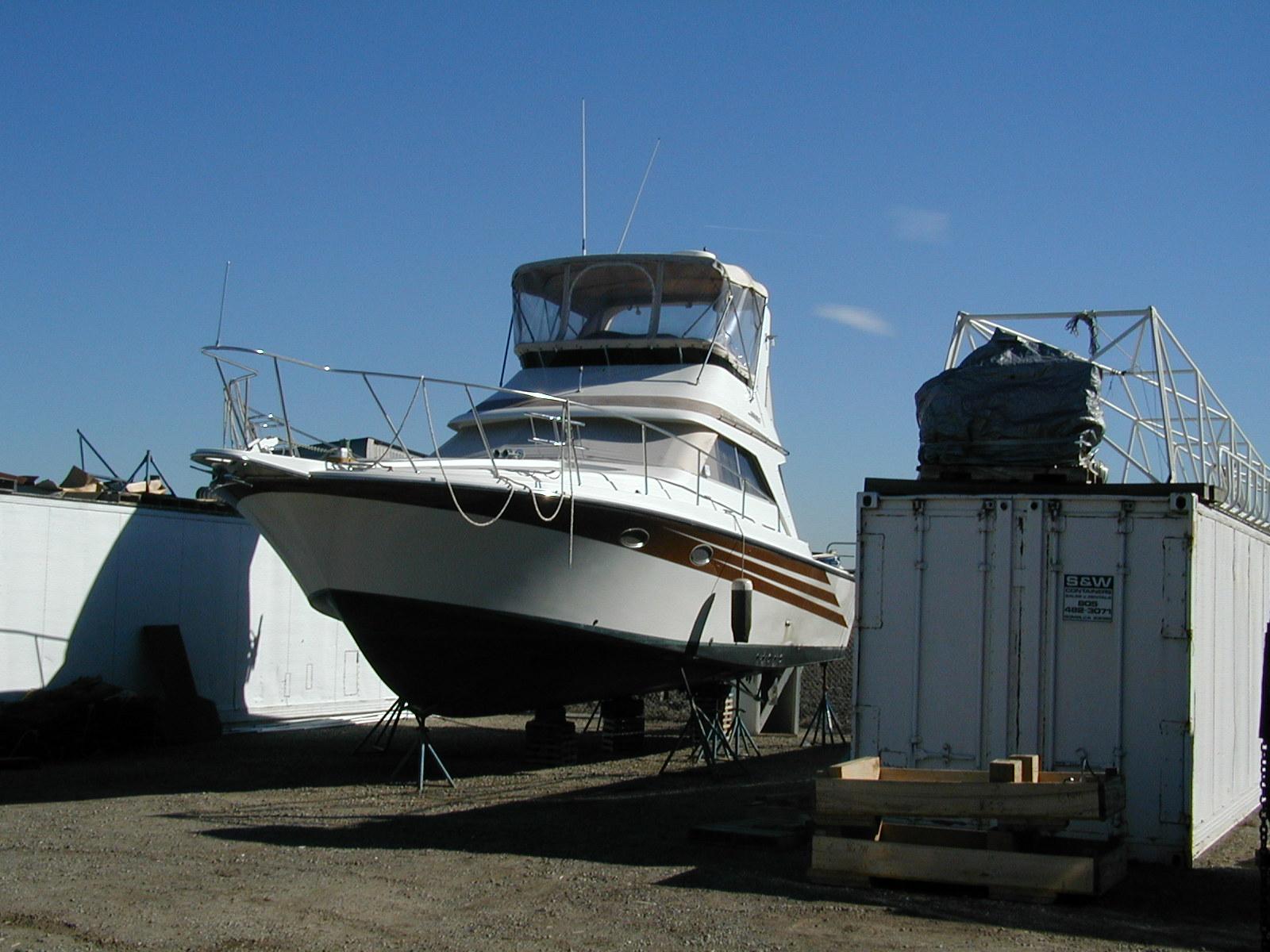 Blocked up at the Seaboard Marine yard