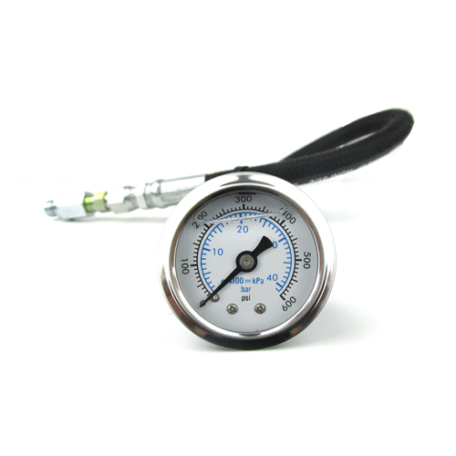 SMX Mechanical Gear Oil Pressure Gauge 0-600 PSI