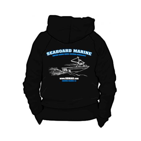 Seaboard Marine Black Hoodie Sweatshirt