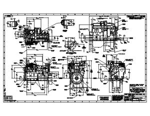 cummins engine drawings seaboard marine cummins 6cta jwac industrial base engine