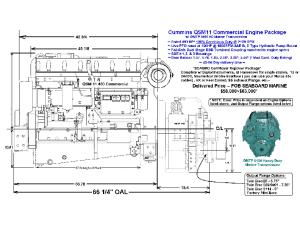 Cummins QSM 11 Specifications - Seaboard Marine