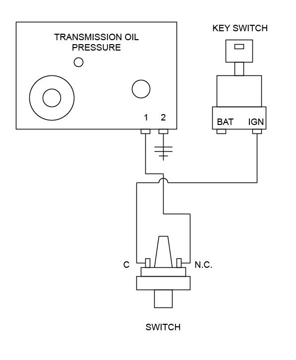smx transmission low pressure alarm panel seaboard marine