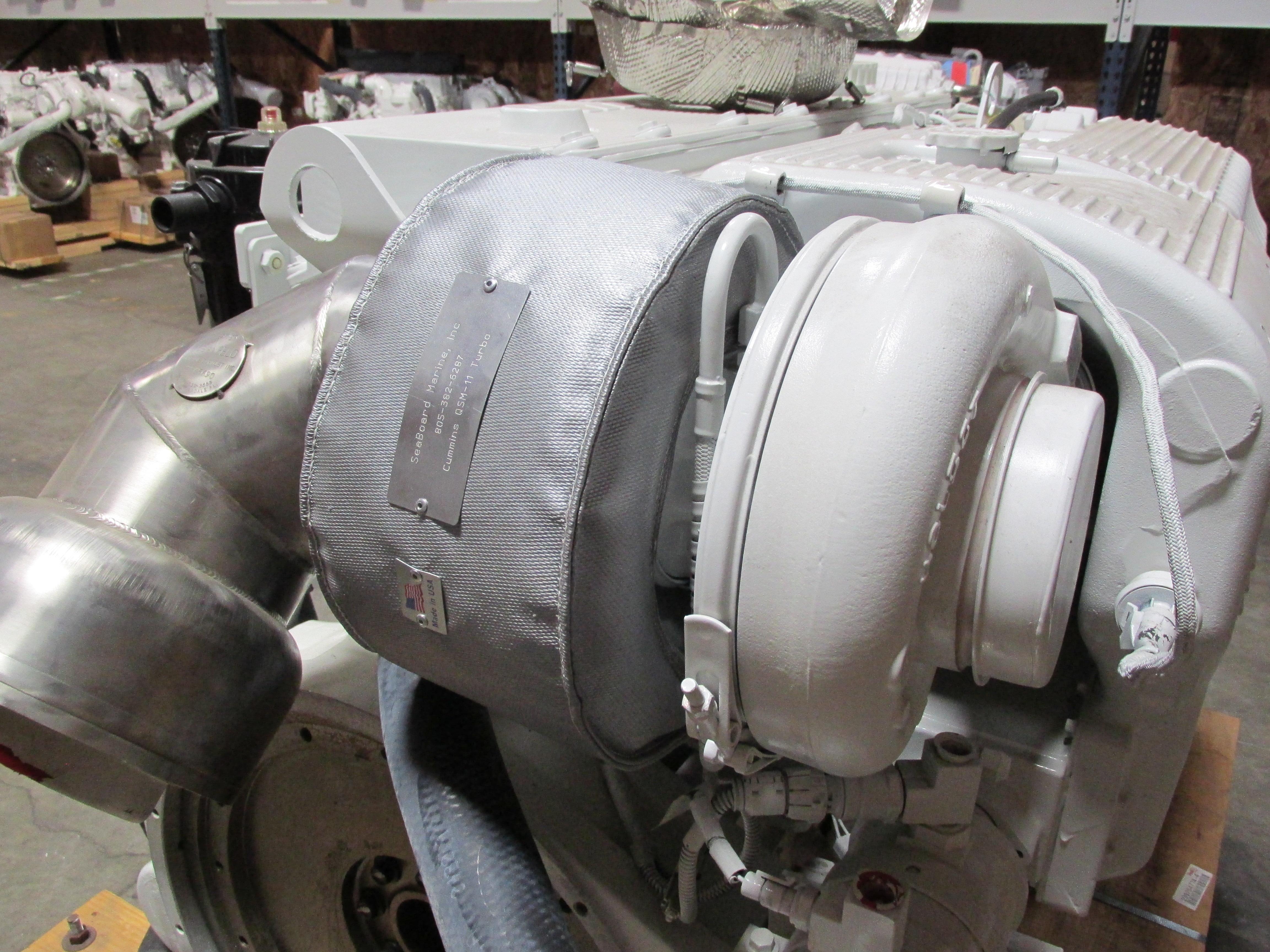 Qsm 11 Turbo Exhaust Shield    Wrap