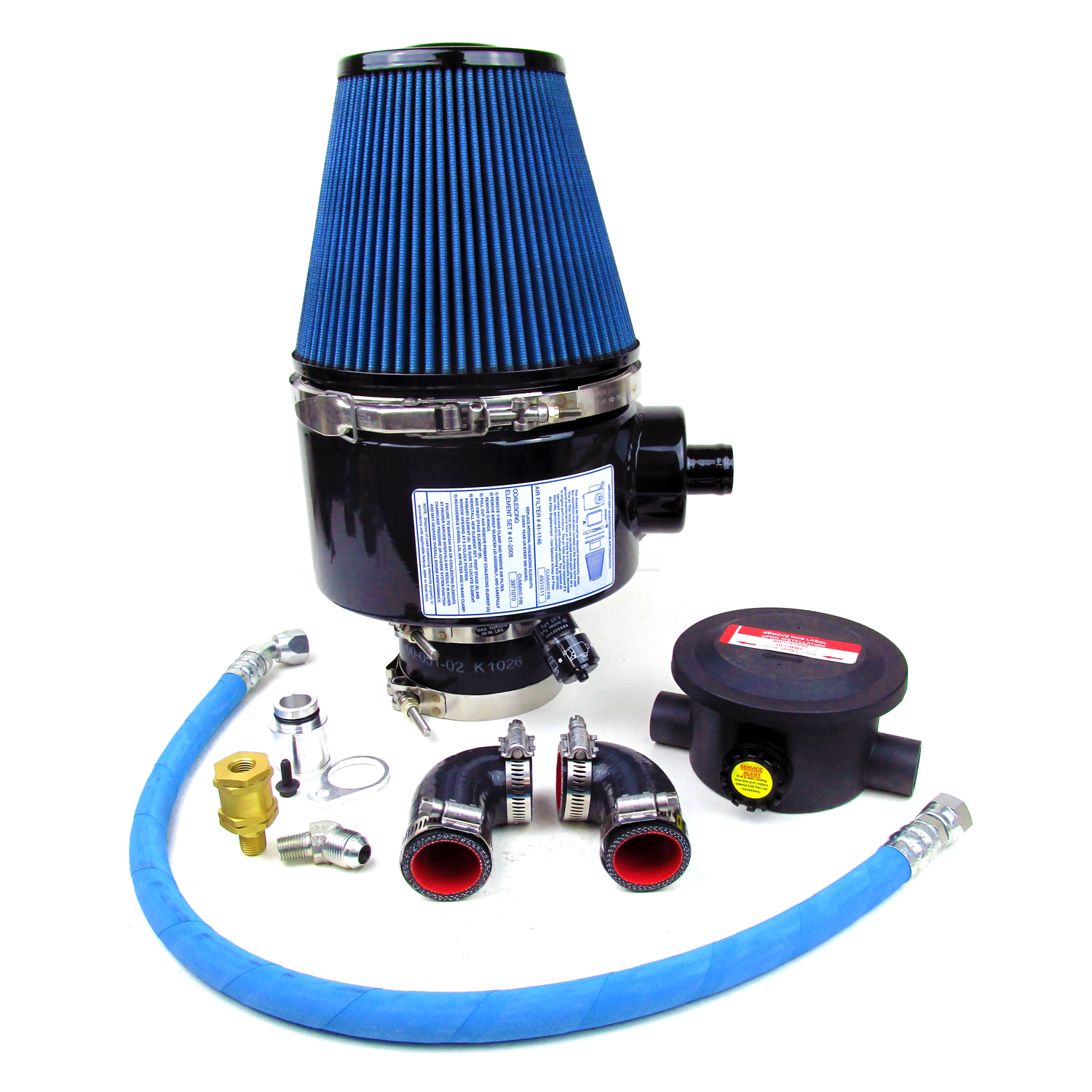 Boat Air Filters : Qsb walker airsep air filter kit seaboard marine
