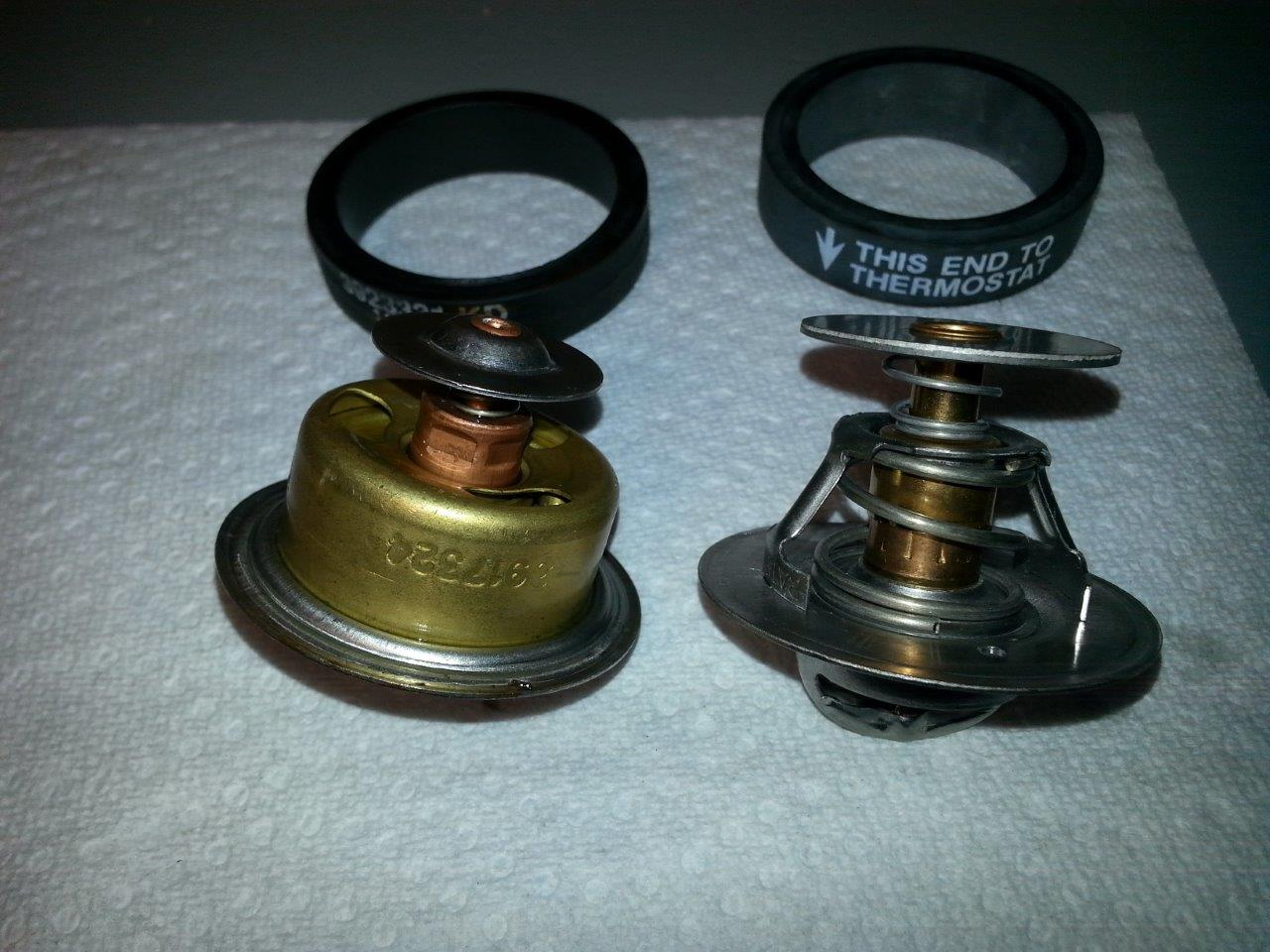 OEM and SMX 160F Thermostat