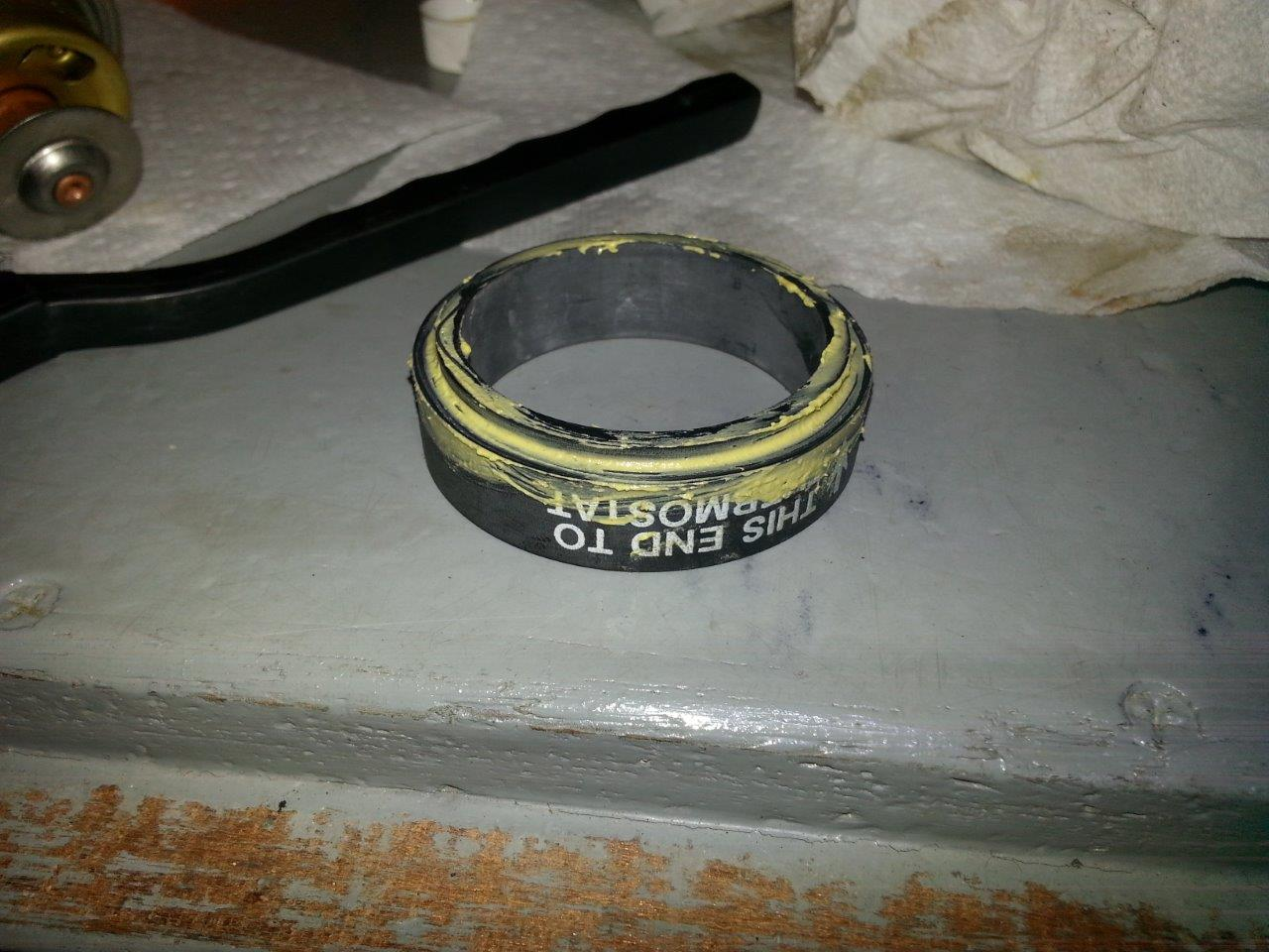 Rectorseal 5 on Thermostat Seal