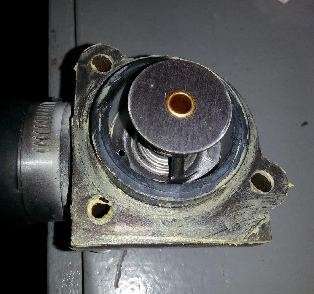 New Thermostat in Housing