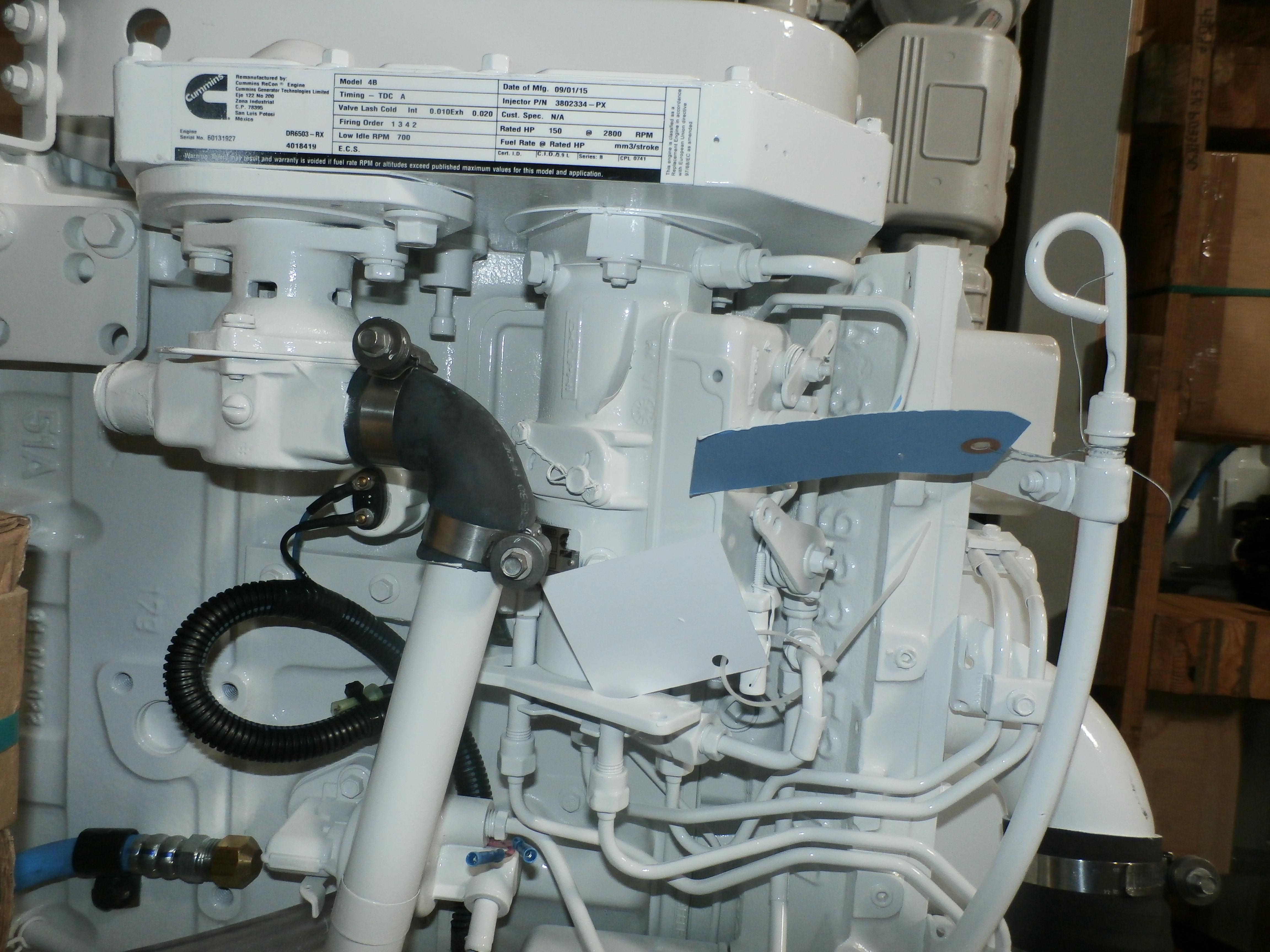 How to Find your Cummins Marine Engine Details - Seaboard Marine