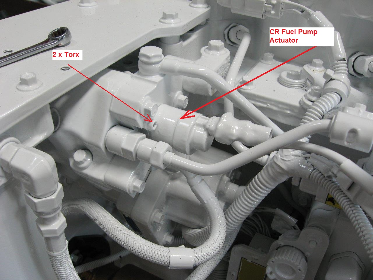 Cummins Marine Fuel Pump Actuator
