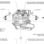 ZF 63 - ZF 85 Electric Shift Valve Drawing