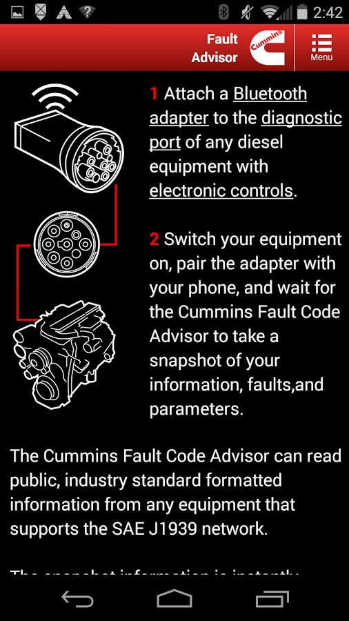 Cummins Marine J1939 Fault & Alarm Code Lookup - Seaboard Marine