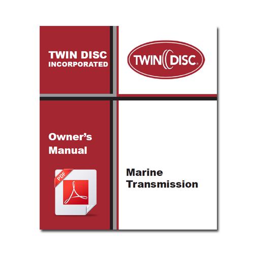 Twin Disc Marine Transmission Owner U0026 39 S Manual