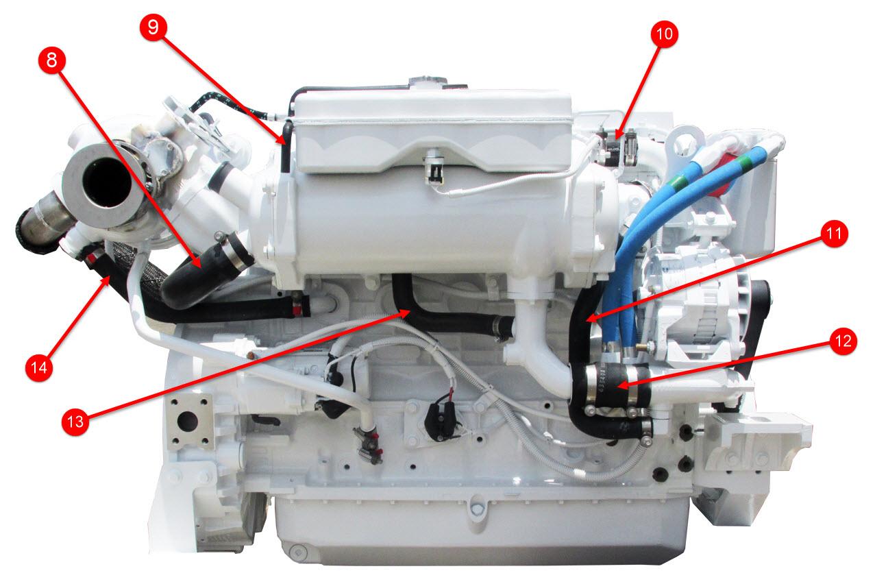 QSB 6.7 Engine Hoses