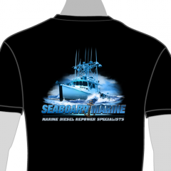 "Seaboard Marine T-Shirt ""Outer Banks"""