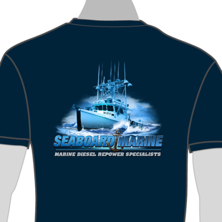 """Seaboard Marine T-Shirt """"Outer Banks"""""""