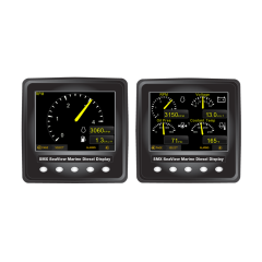 SMX SeaView J1939 Double Digital Display Kit