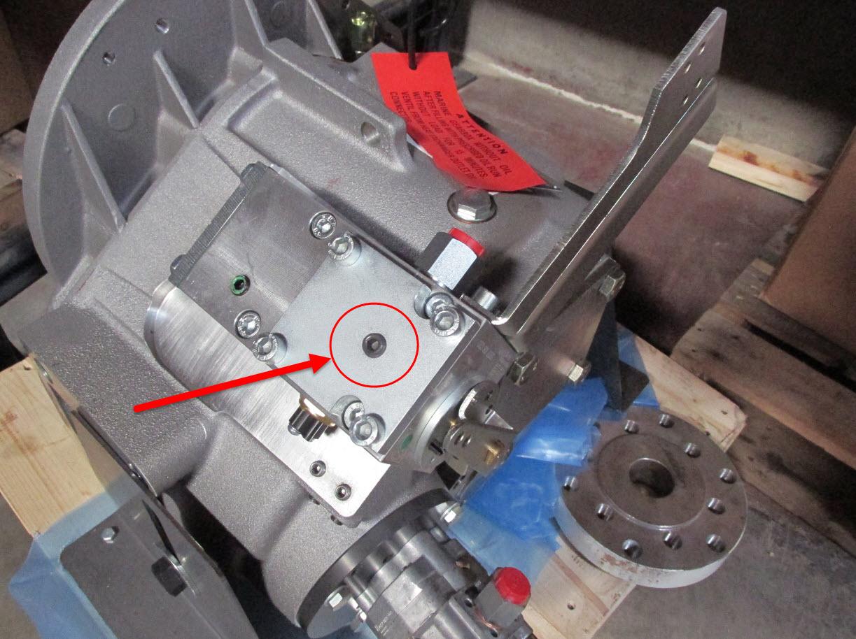 zf 280 a  iv mb15 shift valve gear oil pressure port