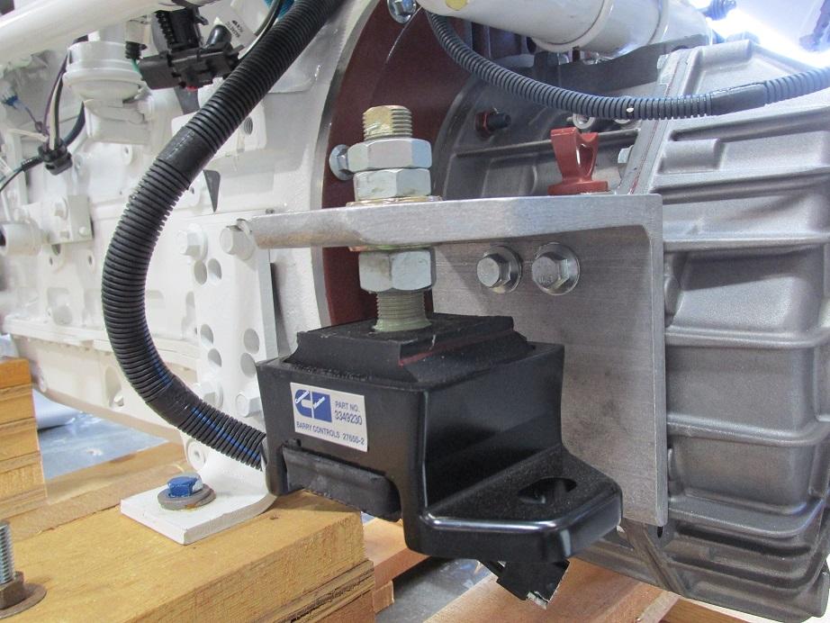Marine Transmission Mounting Amp Bracketing Ideas Seaboard