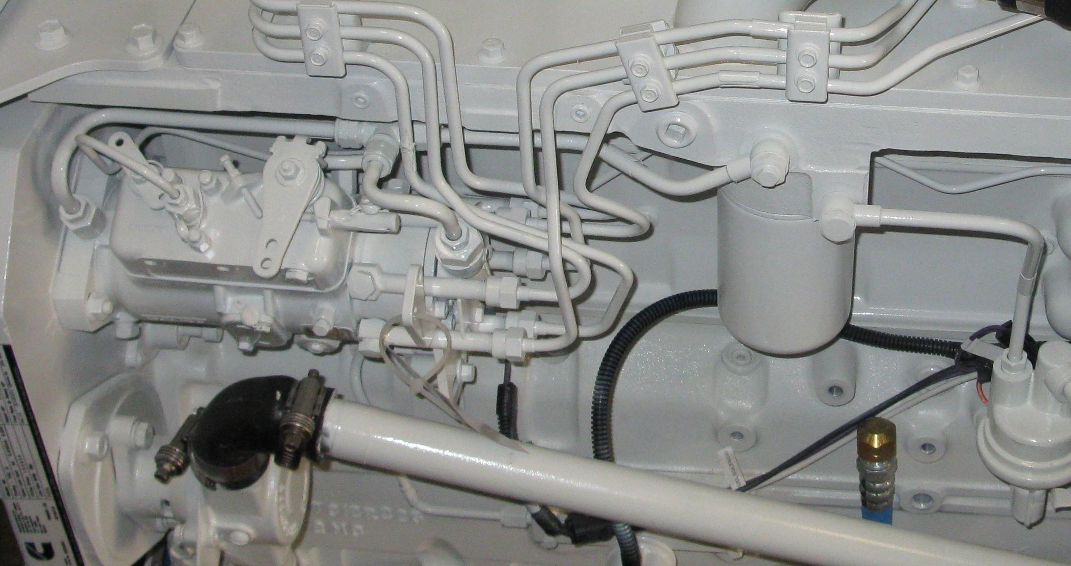 cummins 6bt 5 9 210 cav injection pump plumbing