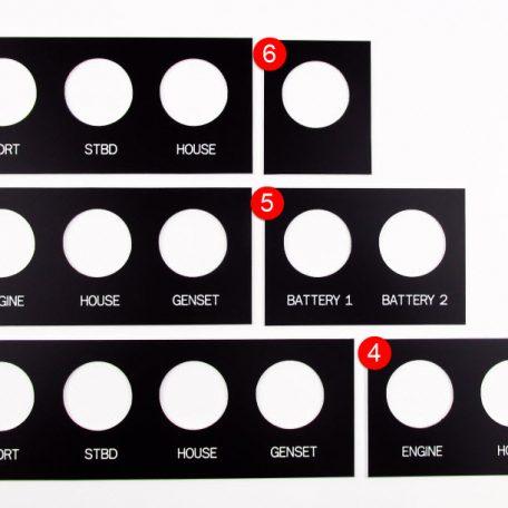 SMX DVM Label Panels