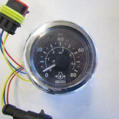 Cummins Engine Oil Pressure SmartCraft Gauge 0-80