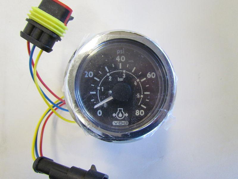 Cummins Smartcraft Engine Oil Pressure Gauge  3971773