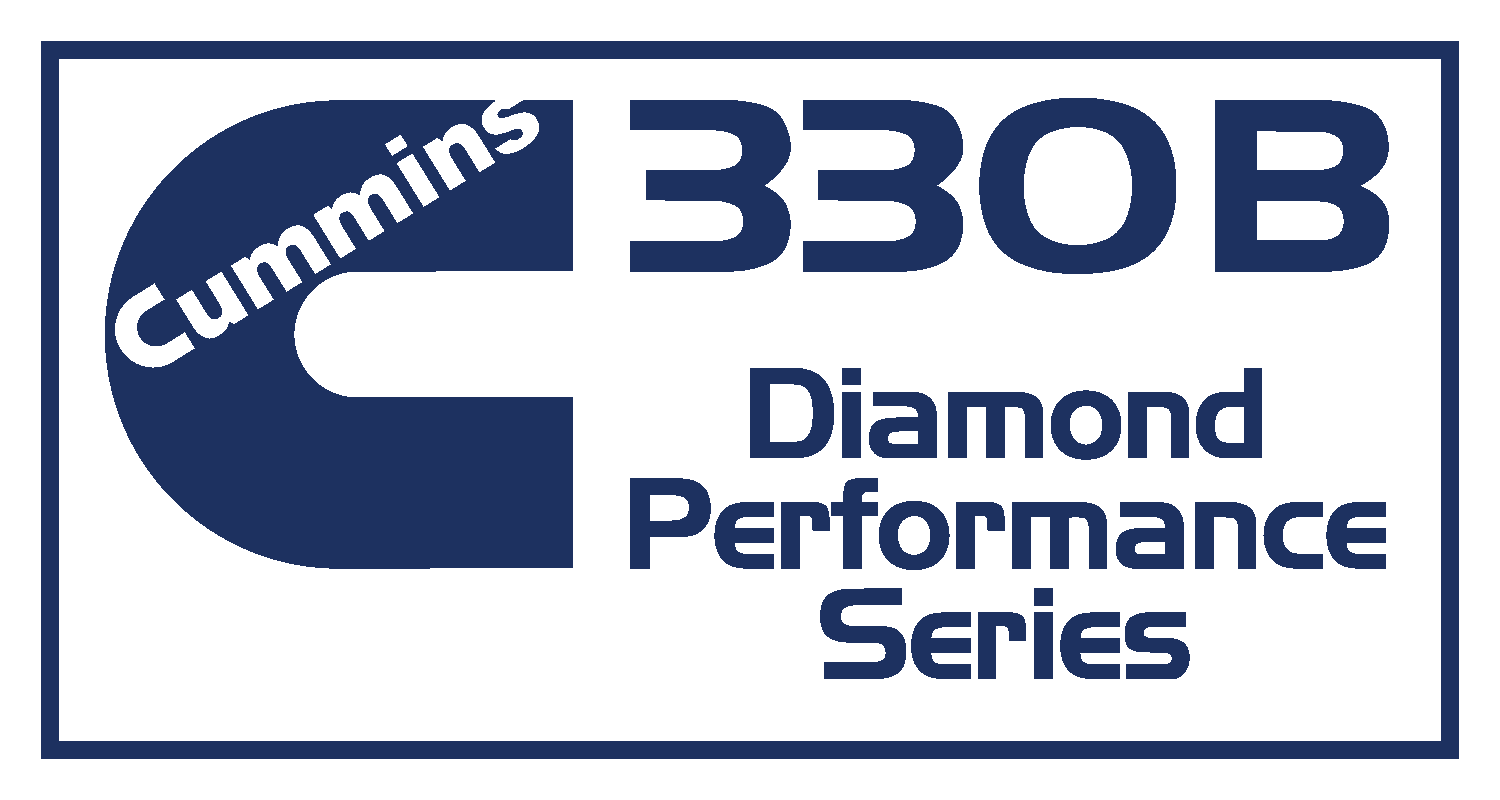 Cummmins 330B Diamond Performance Series Decal