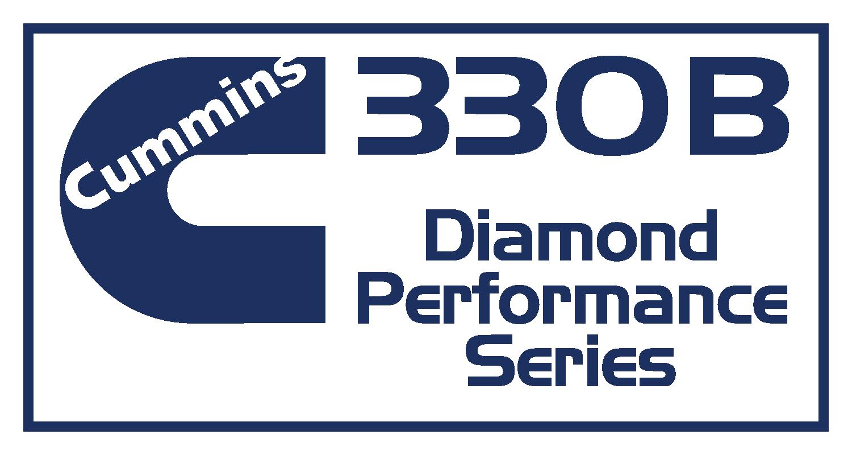 Cummmins 330B Diamond Performance Series Decal