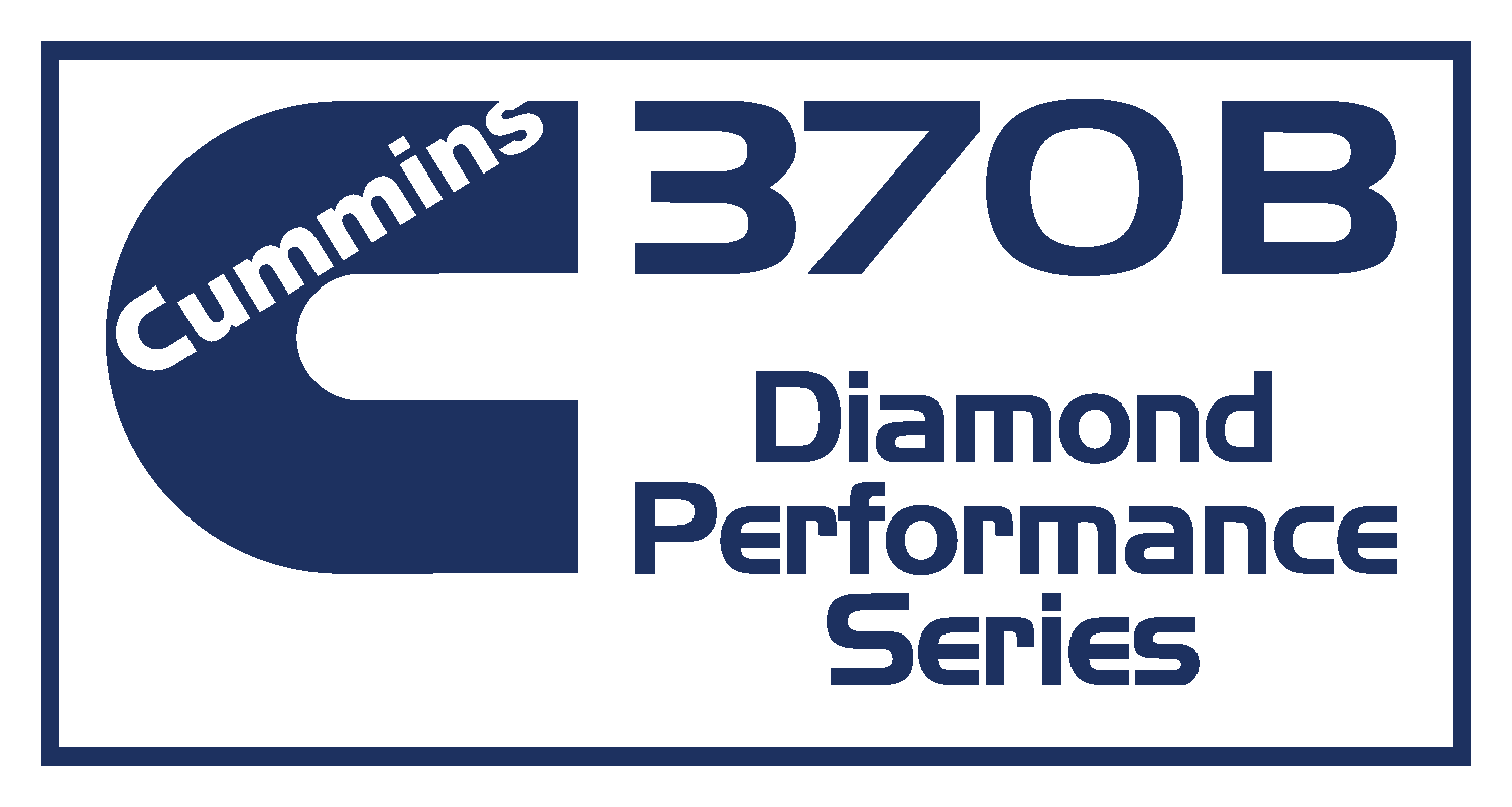 Cummmins 370B Diamond Performance Series Decal