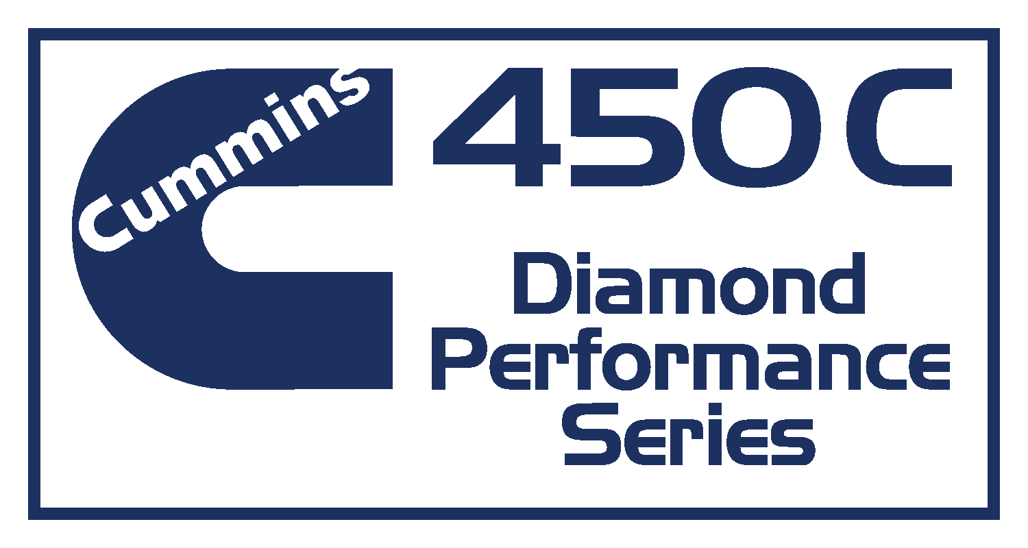 Cummmins 450C Diamond Performance Series Decal