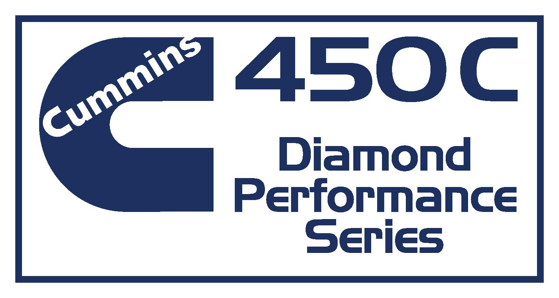 Cummmins 450C Diamond Performance Series Decal