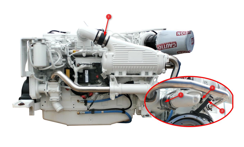 QSC 8.3 Engine Hoses