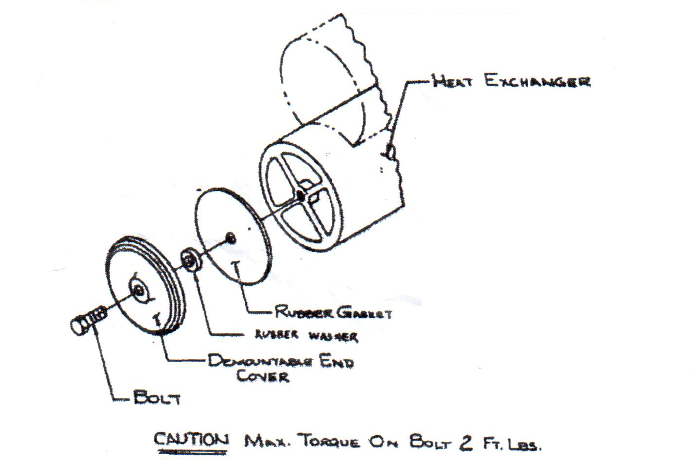 2  cummins 6b series heat exchanger kit