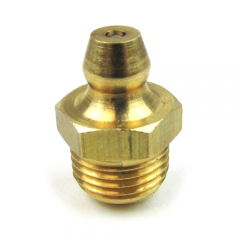 "Marine Brass 1/8"" NPT Zerk Grease Fitting"