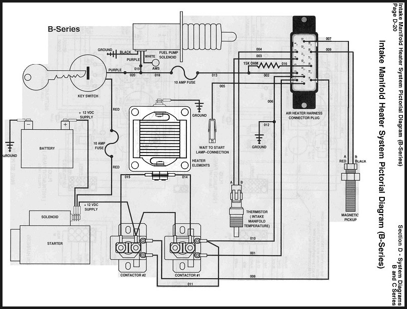 cummins marine heater grid assembly wiring diagram ... 1993 6bt wiring diagram