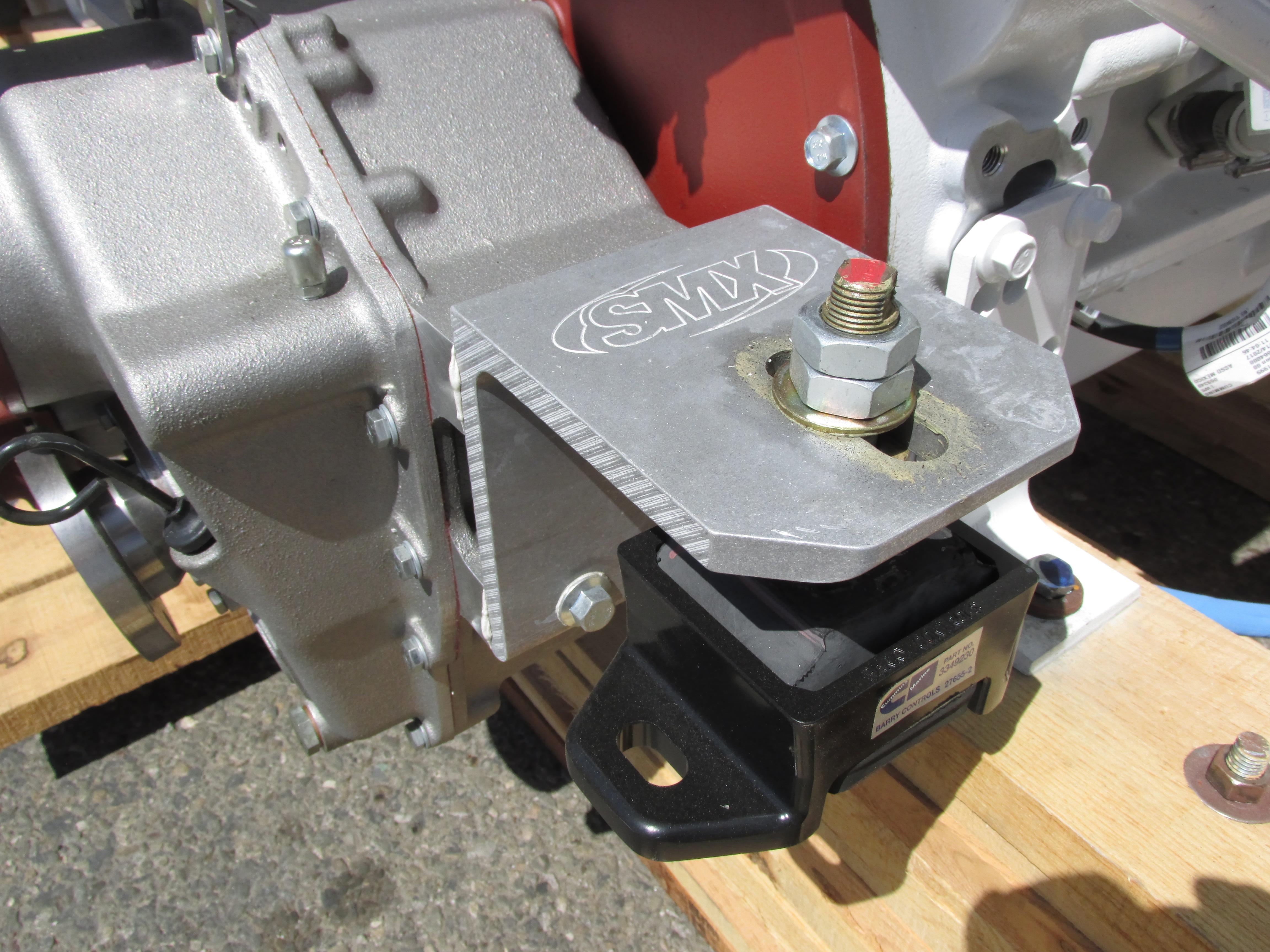 ZF 220A SMX Marine Transmission Mounting Brackets