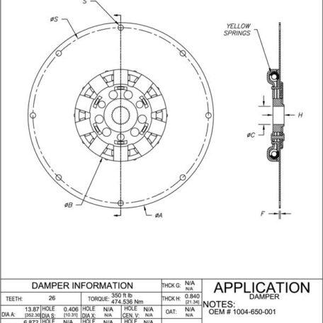 1004-650-001 Drawing