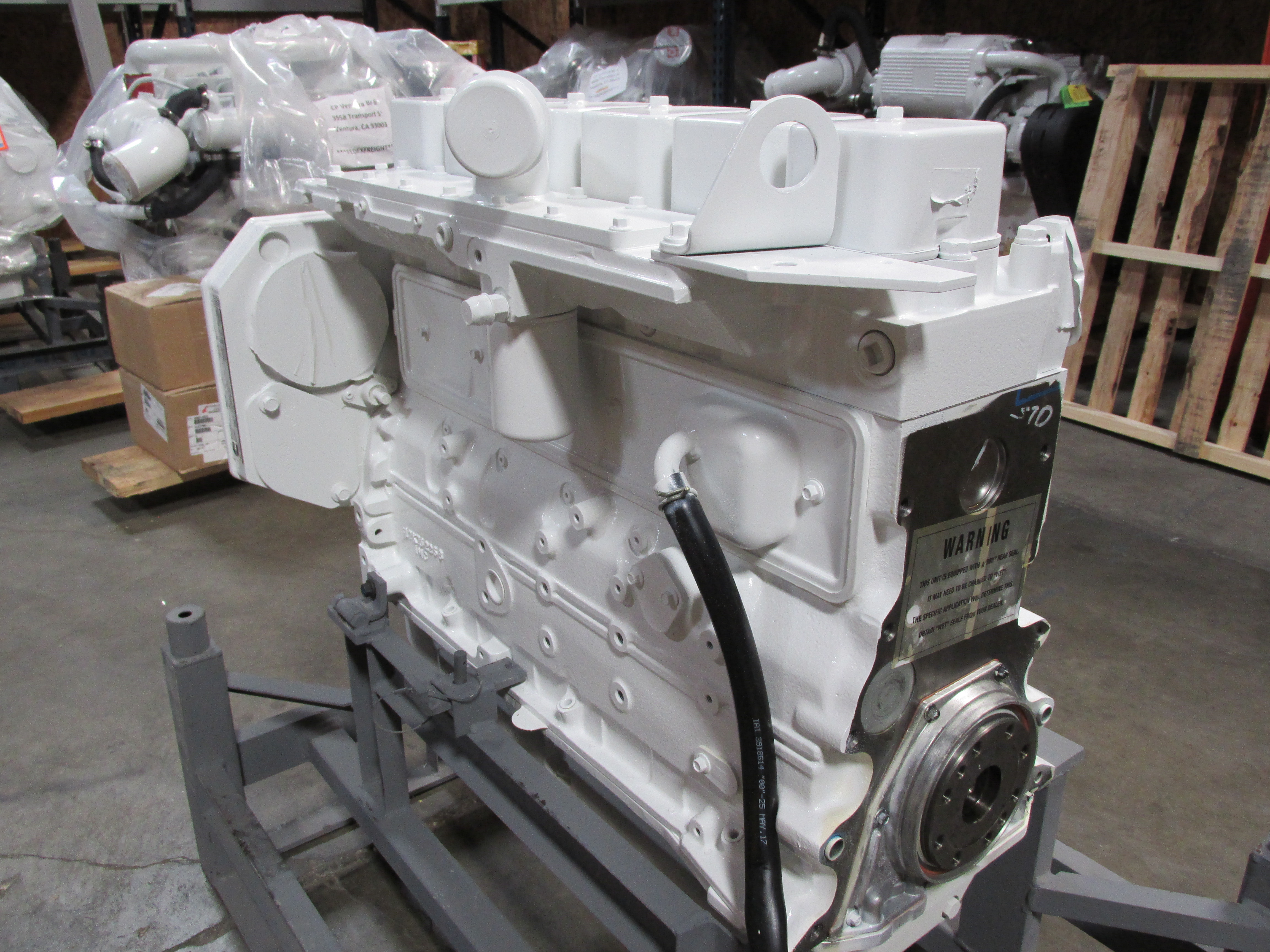 Cummins Marine Long Block Engine
