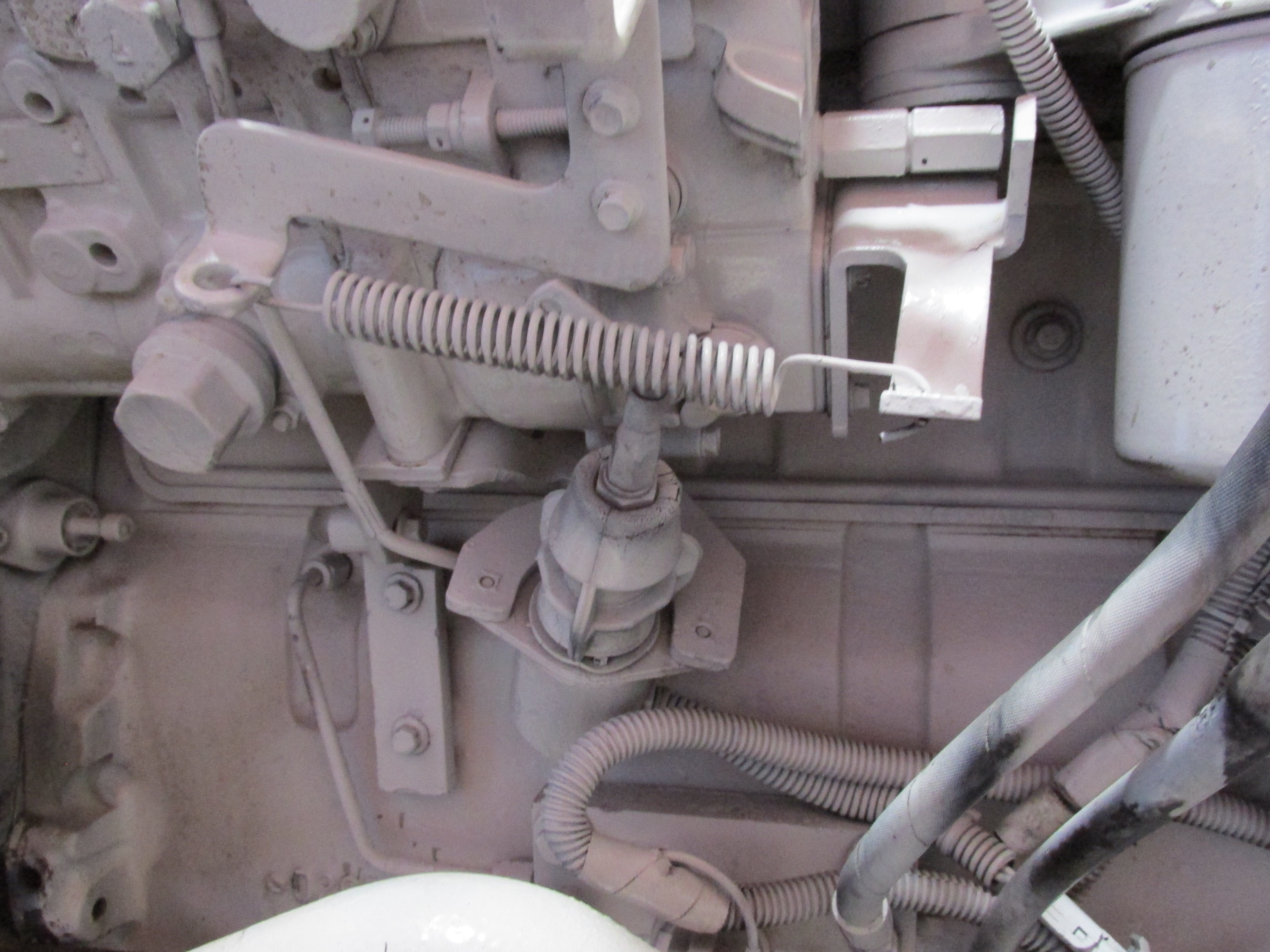 Cummins Fuel Shutoff Solenoid, 12V (Early 6B Series Engines)