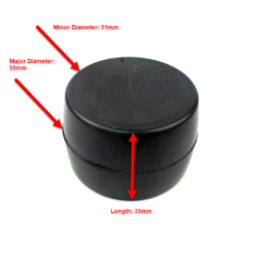 Centa CF-R Replacement Rubber Puck Dimensions